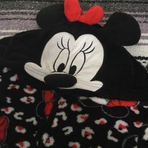 Mini Mouse Hooded Onsie